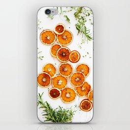 Pure Citrus (Color) iPhone Skin