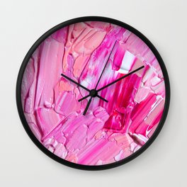 Raspberry Truffle Wall Clock