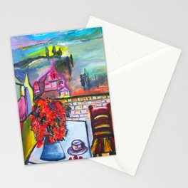 Room With A View  #society6 #decor #buyart Stationery Cards