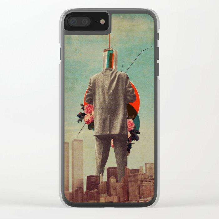 Cervantes Clear iPhone Case