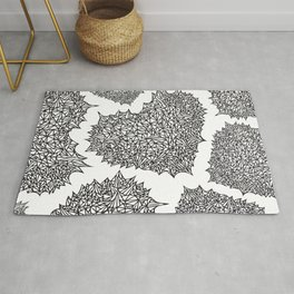 The Heart of Thorns Rug