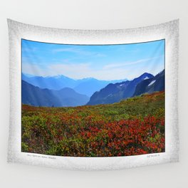 ONCE UPON AN ALPINE MEADOW Wall Tapestry