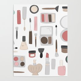 Let's Makeup Poster
