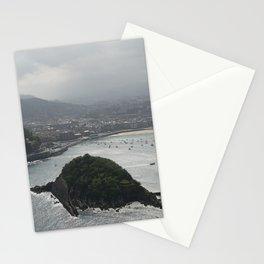 san sebastian, spain Stationery Cards