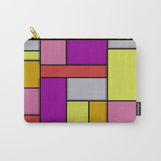 Mondrian #6 Carry-All Pouch