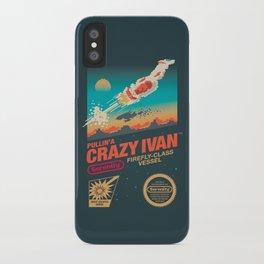 Crazy Ivan iPhone Case