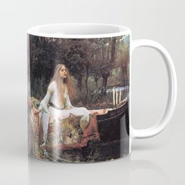 The lady of shalott painting  Coffee Mug