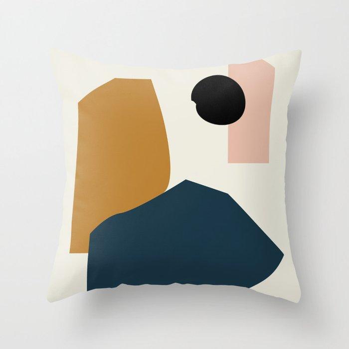 Shape study #1 - Lola Collection Throw Pillow