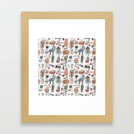 Cats Life Framed Art Print