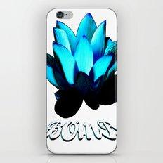 Lotus Flower Bomb iPhone Skin