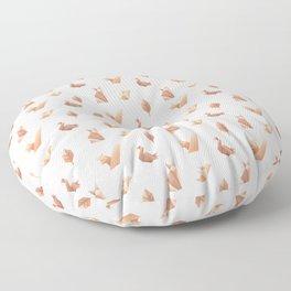 Woodland origami Floor Pillow