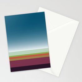 Santa Monica Horizon Stationery Cards