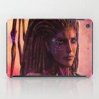 starcraft iPad Cases featuring Sarah Kerrigan  by p1xer
