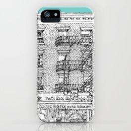 PORTO RICO IMPORT CO, NYC iPhone Case