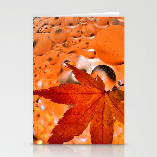 Maple Leave Stationery Cards