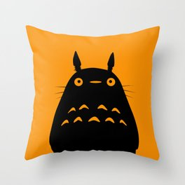 MY NEIGHBOR TO TO RO  Throw Pillow