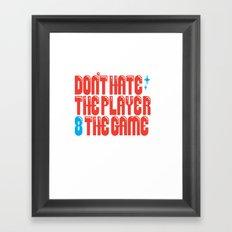 Don't 8 Framed Art Print