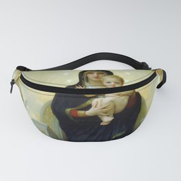 """William-Adolphe Bouguereau """"The Virgin with Angels"""" Fanny Pack"""