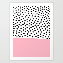 Conect the dots Art Print