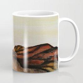 Mountain & Desert / Watercolor Painting Coffee Mug