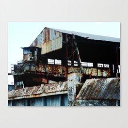 "Old Sugar processing plant ""Coloso"" 6 @ Aguada Canvas Print"