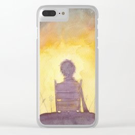 47 Sunsets Clear iPhone Case