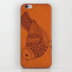 Retro Pigeon iPhone & iPod Skin