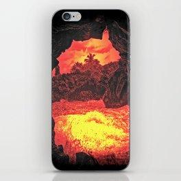 villainous island  iPhone Skin