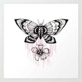 mothblossom Art Print
