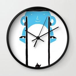 Mr Blue Boy Wall Clock