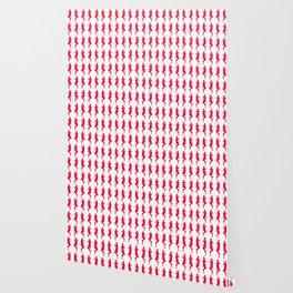 Rouge Bold Mod GoGo Girls Wallpaper
