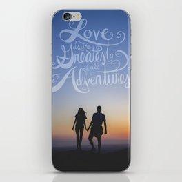 The Greatest Adventure  iPhone Skin