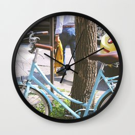 The Streets of Old Quebec  Wall Clock