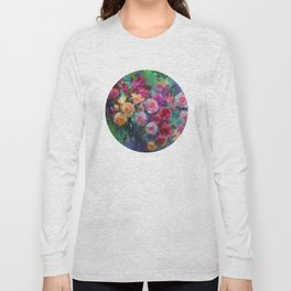 Tea Roses Long Sleeve T-shirt
