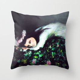 Forest Nap Throw Pillow
