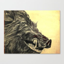 Orville the Amazing Boar Canvas Print