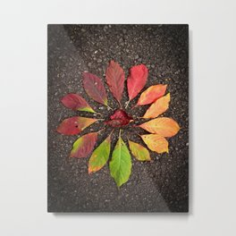 Leaf Love No.1 Metal Print