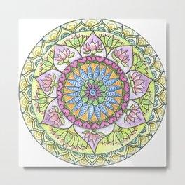 Lotus Growth Metal Print