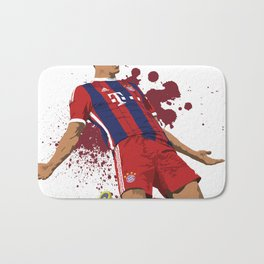 Robert Lewandowski - Bayarn Munich Bath Mat