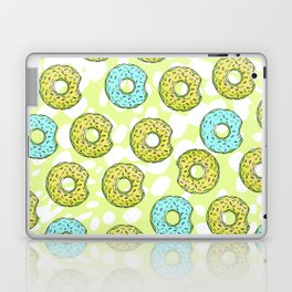 DONUTS AND DOTS DELICOUS DELIGHT Laptop & iPad Skin