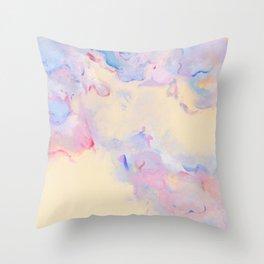 Pastel carnival Throw Pillow