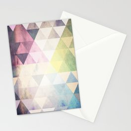 Geometric Groove Stationery Cards