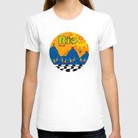 rio T-shirts featuring Rio 1 by Monica Fuchshuber