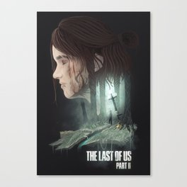 The Last of Us - Part II Canvas Print