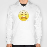 emoji Hoodies featuring Emoji by ivanecky