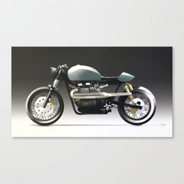 VITESSE :: Triumph Thruxton Canvas Print