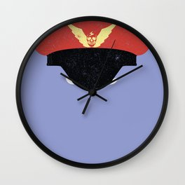 Bison - Nightmare Booster Wall Clock