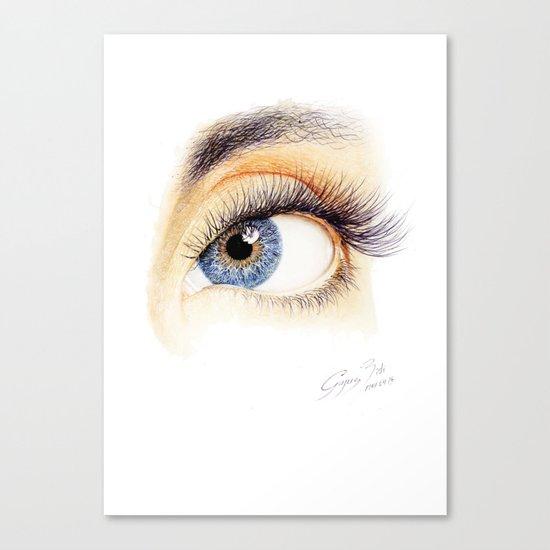 An eye Canvas Print