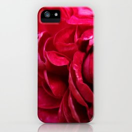 rosy petals iPhone Case