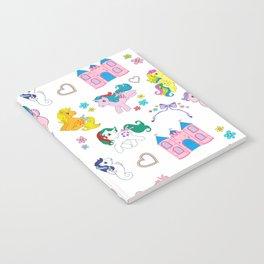 g1 my little pony pattern Notebook